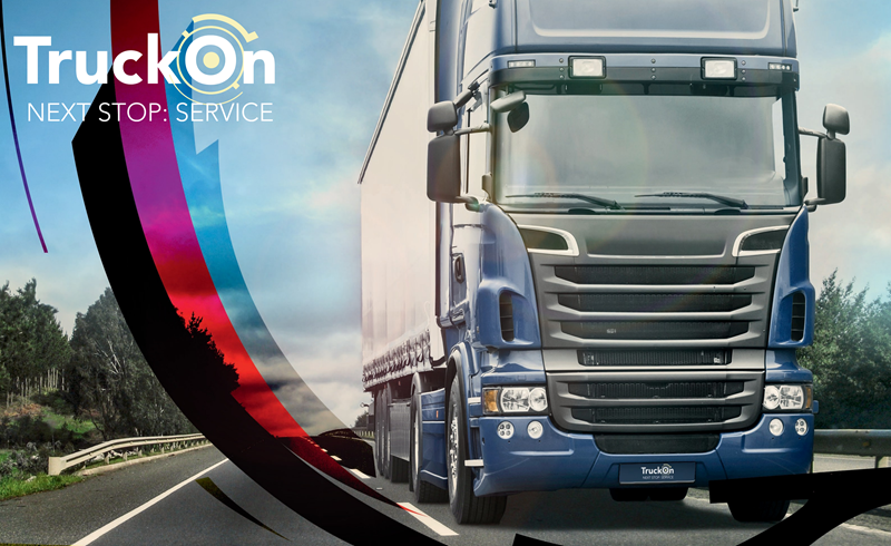 TruckOn – Intelligente Service Plattform